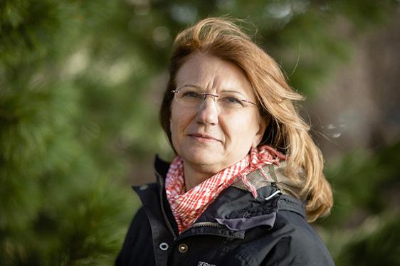 Maria Fällman.Professor.Molekylärbiologi.Foto: Mattias Pettersson.Fotad för Aktum.