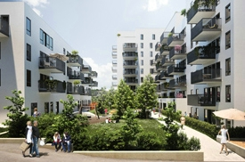 """AF Gruppen signs with Haslemann AS for the housing project """"Krydderhagen"""" at Hasle in Oslo"""