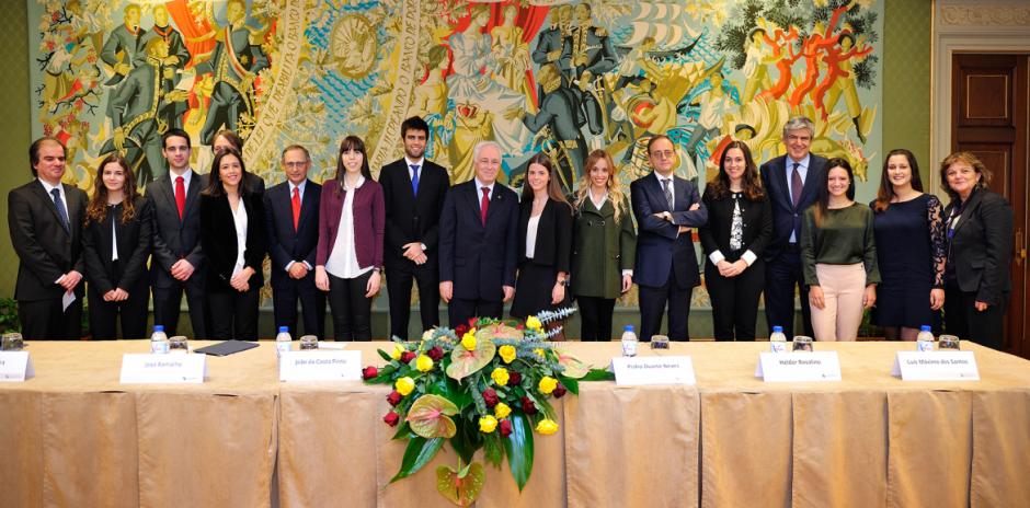 Banco de Portugal's Professor Jacinto Nunes Prize 2016 winners for the academic year 2015/2016