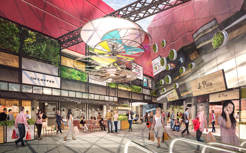 ECE: MyZeil shopping center in Frankfurt to get a new innovative food and entertainment options by the end of 2018