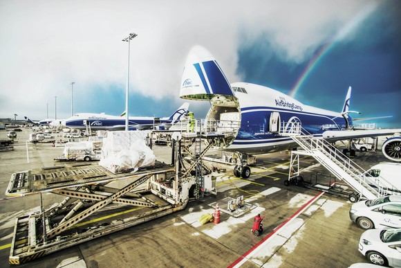 Heathrow welcomes its second dedicated cargo-only service, AirBridgeCargo Airlines