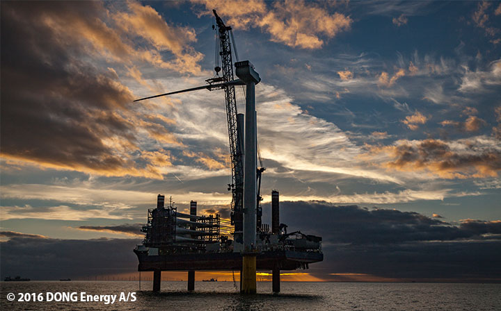 LEGO Group: Burbo Bank Extension Offshore Wind Farm begins generating electricity