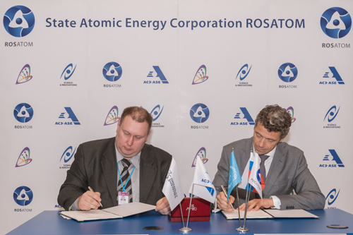 ROSATOM's ASE Group of Companies and Dassault Systèmes sign three-year cooperation agreement at IAEA in Vienna