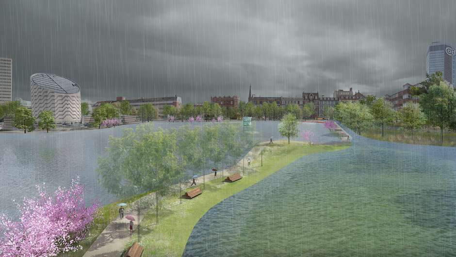 Ramboll involved in new project to help cities in the future deal with heavy rains and floods