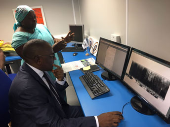 SGS opens new scanner site in the port of Douala, Cameroon