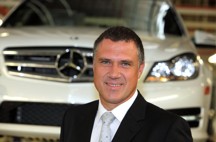 Daimler appoints Arno van der Merwe as new president and CEO of BBAC from April 201