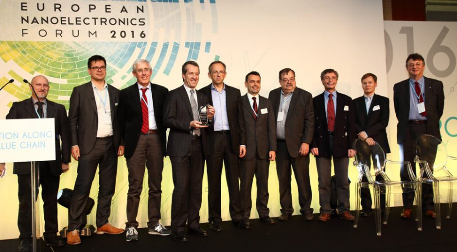 Lab4MEMS project winner of ECSEL Joint Undertaking 2016 Innovation Award at the European Nanoelectronics Forum, in Rome