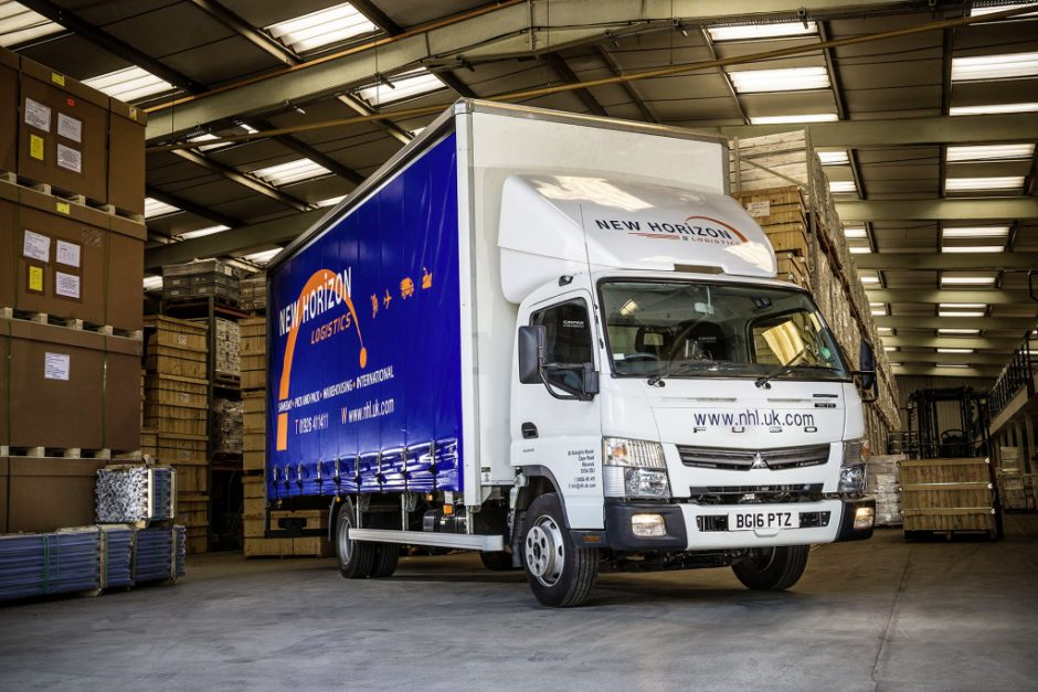 Reduced overall operating costs thanks to a high payload and fuel savings of up to 50 percent – the Fuso Canter 7C15 Eco Hybrid proved an impressive proposition for UK logistics company New Horizon Logistics Ltd.