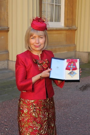 Professor Anna Dominiczak made a Dame Commander of the Order of the British Empire at a ceremony at Buckingham Palace