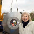 Scotland's first ultra-powerful 17.5 tonne 7 Tesla (7T) MRI scanner arrives at the Queen Elizabeth University Hospital (QEUH)