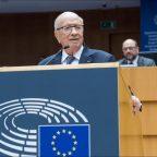 Mohamed Beji Caid Essebsi addressing the European Parliament