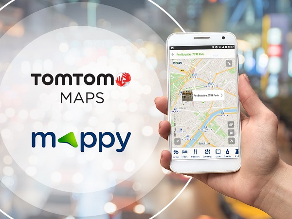 Mappy increases access to TomTom traffic data to the whole of Europe