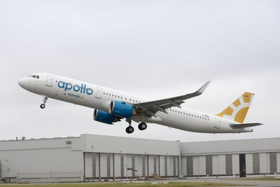 Airbus First A321neo For Swedish Charter Airline Novair  EuropaWireeu