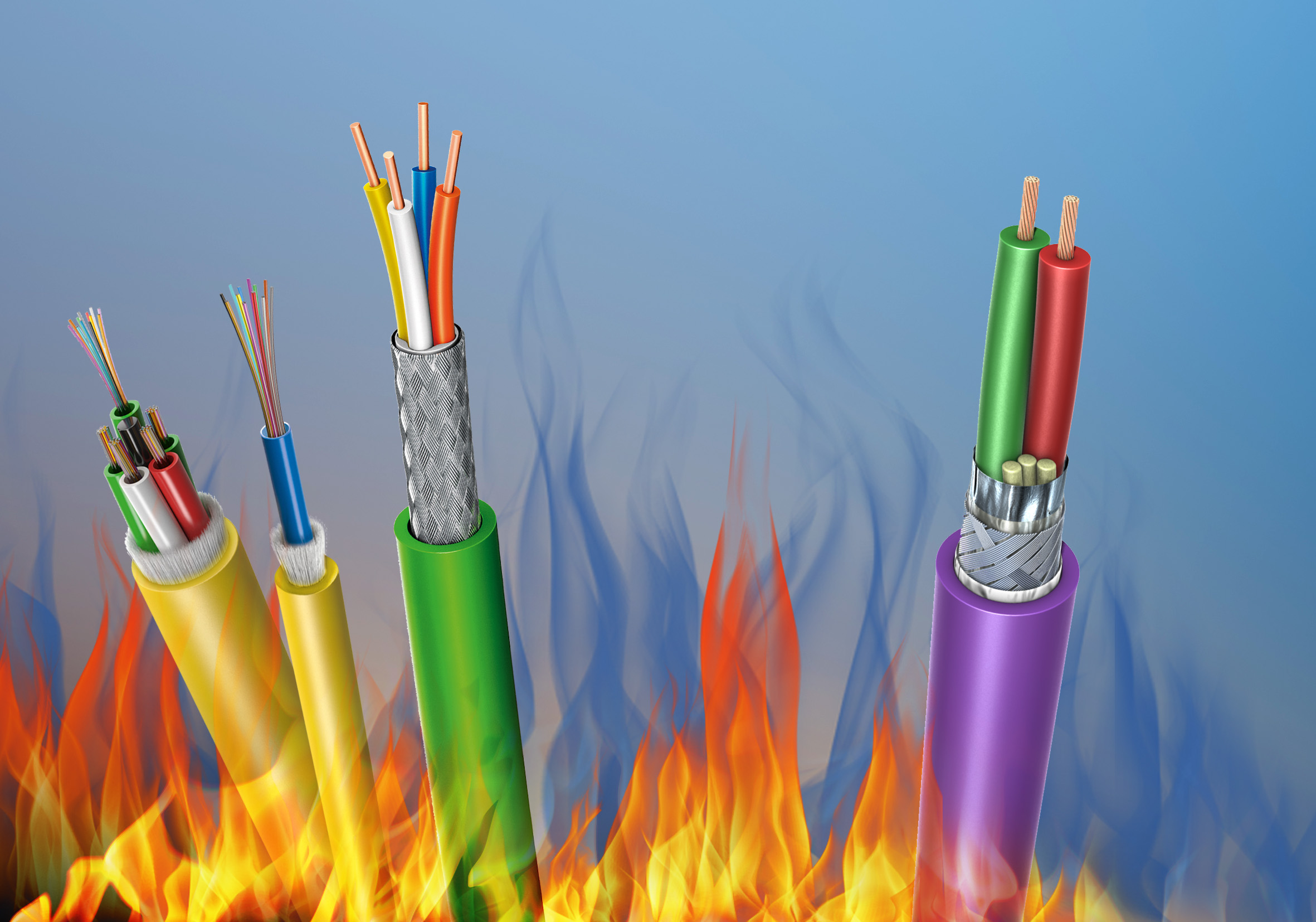 Leoni unveils fire-retardant cables that significantly
