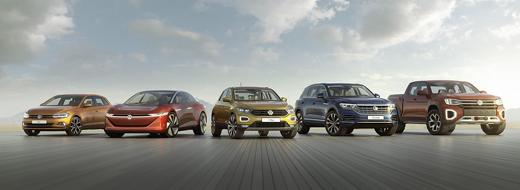 Five Volkswagen Models Received The Plus X Award As Product Of Year 2018