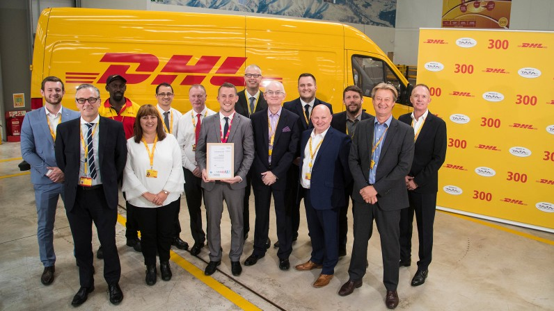 The Birmingham Service Centre of DHL Express in the UK the ...