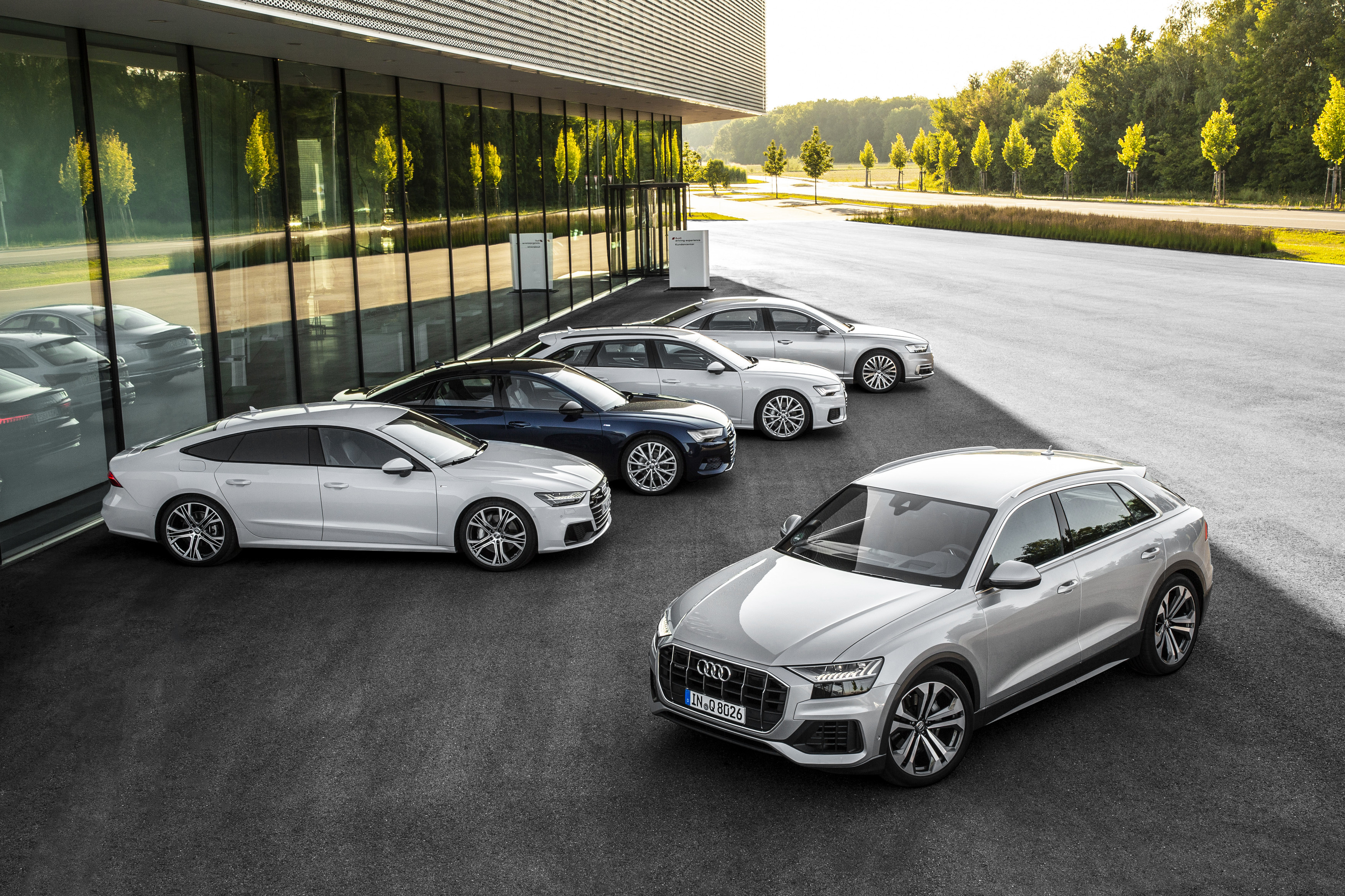 The New Four Door Coupé Audi Q8 Suv Now Available In Audi