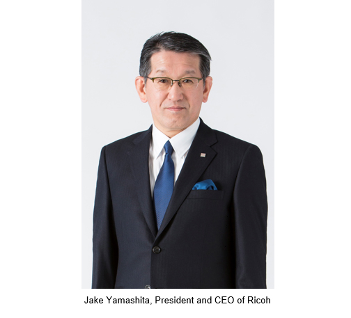 Ricoh President & CEO Jake Yamashita Keynote Speaker At