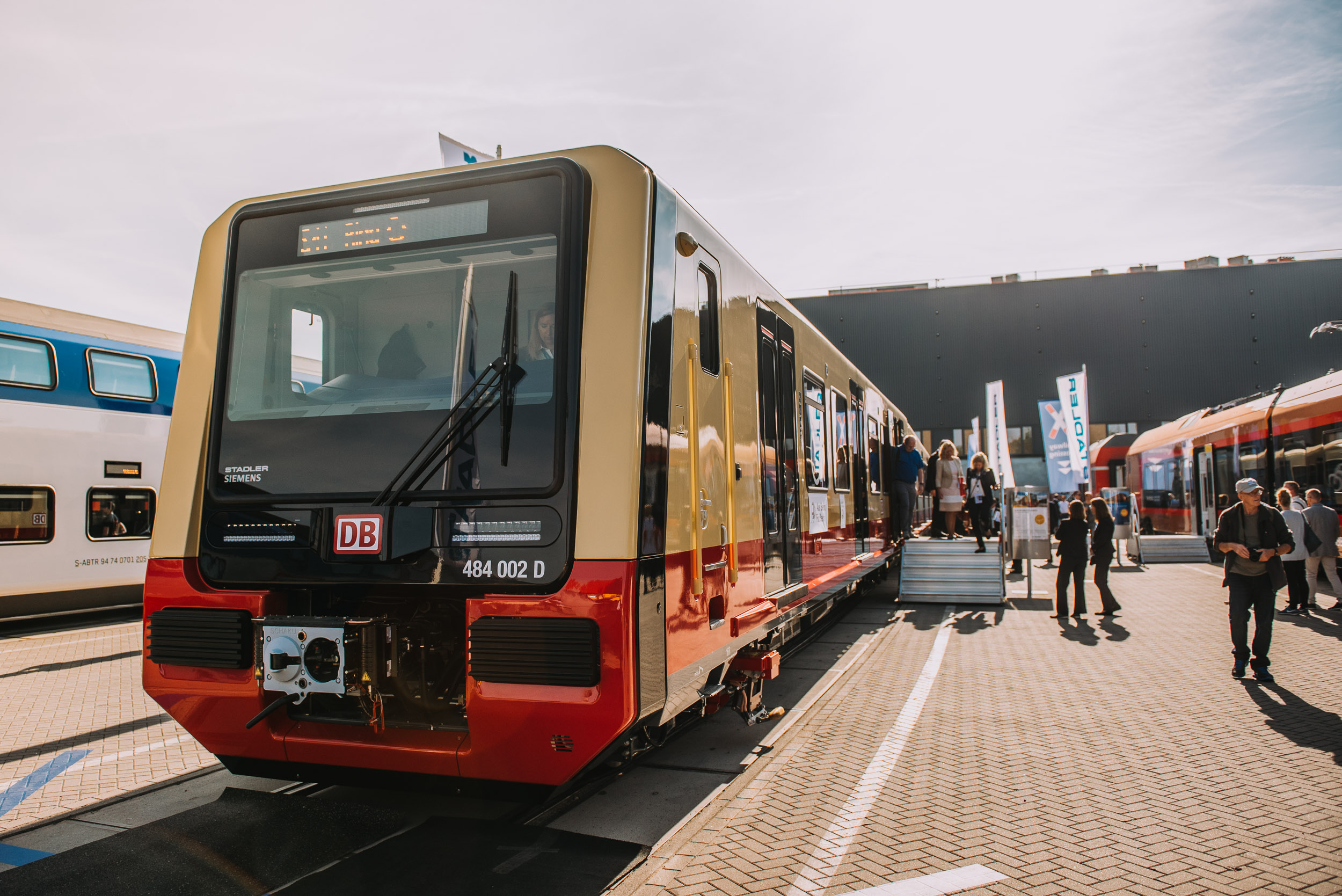 Stadler And Siemens And S Bahn Berlin Presented The First Half