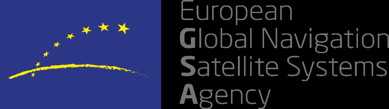 The European Global Navigation Satellite Systems Agency logo
