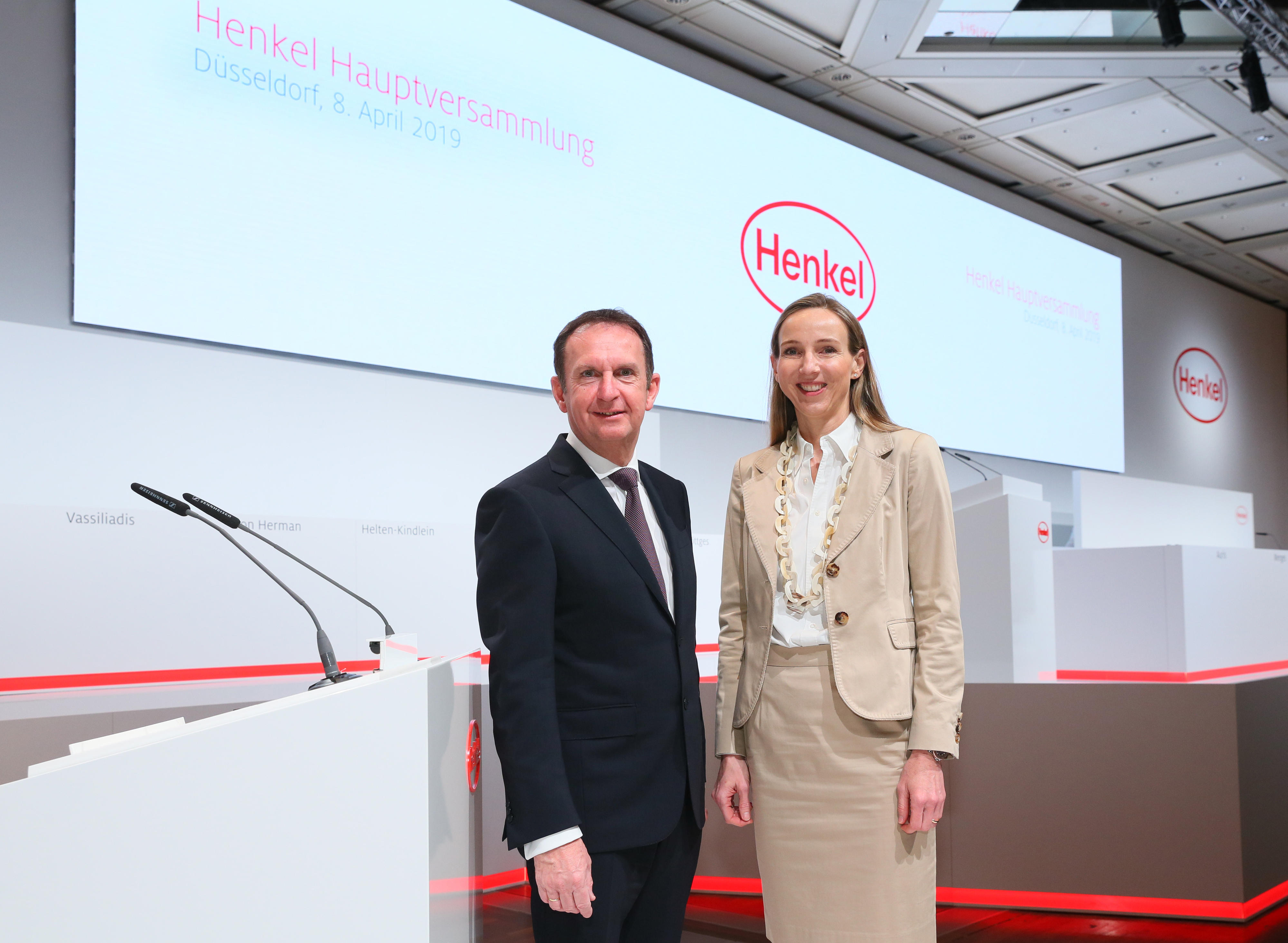 Henkel Annual General Meeting 2019: record levels of earnings, profitability and dividend in FY 2018