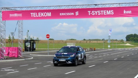 Ericsson's 5G technology used in the first 5G based self-driving car