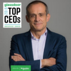 Schneider Electric CEO Jean-Pascal Tricoire ranked 54 on this year's Glassdoor's Top CEOs list