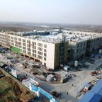 thyssenkrupp Elevator at Beijing Daxing Airline Catering Centre