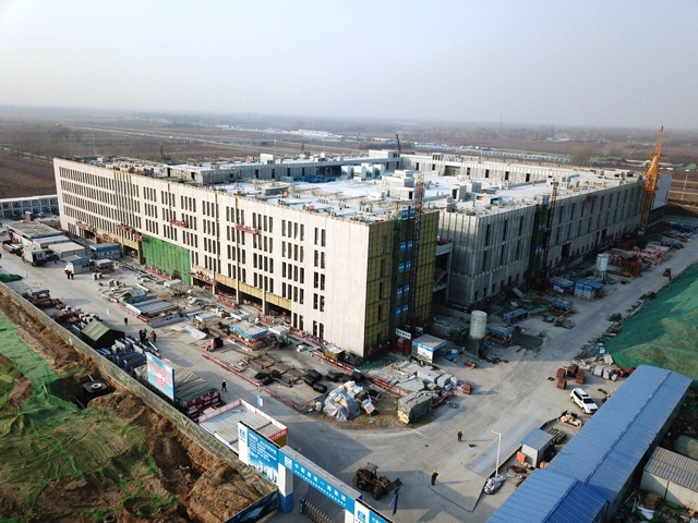 China Southern Airlines' new Beijing airport base at Beijing