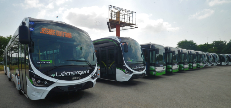 Ivory Coast's largest city Abidjan expands its IVECO BUS fleet to 750 city buses