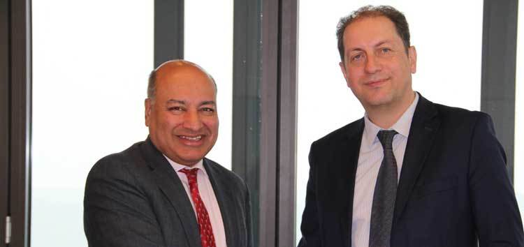 Suma Chakrabarti, EBRD President and Christoph Schoefboeck, President of the Management Board of EBC