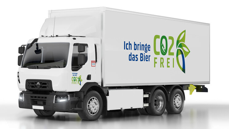 Carlsberg Group's subsidiary in Switzerland orders 20 D Wide Z.E. electric trucks from Renault Trucks