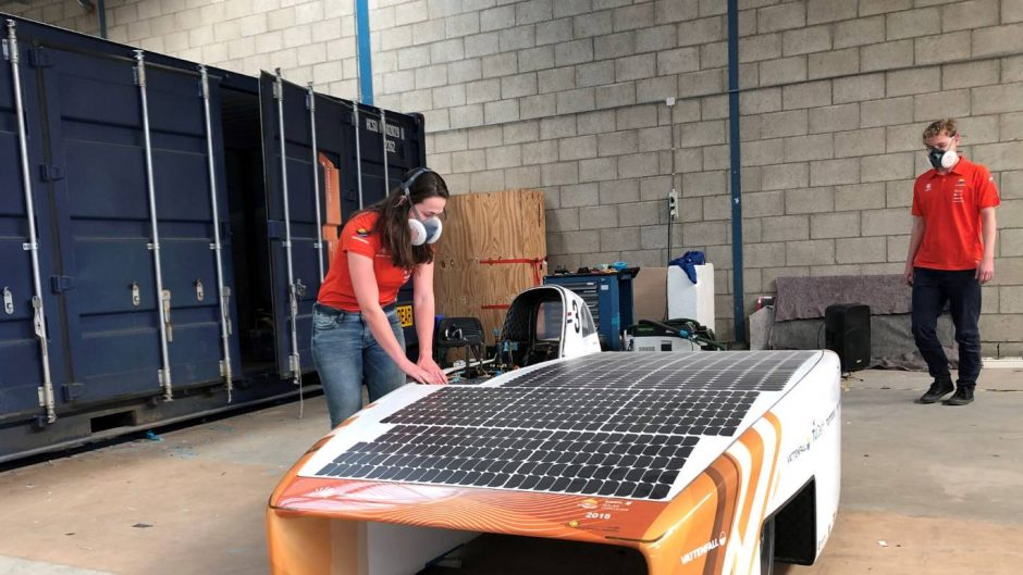 Covid-19: Dutch Vattenfall Solar Team remains hopeful for the solar car race American Solar Challenge this July