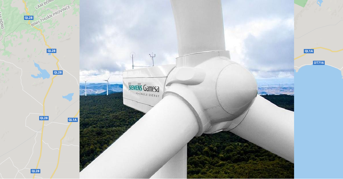 Hoa Thang 1.2 wind farm: Siemens Gamesa Renewable Energy scores its largest order to date in Vietnam
