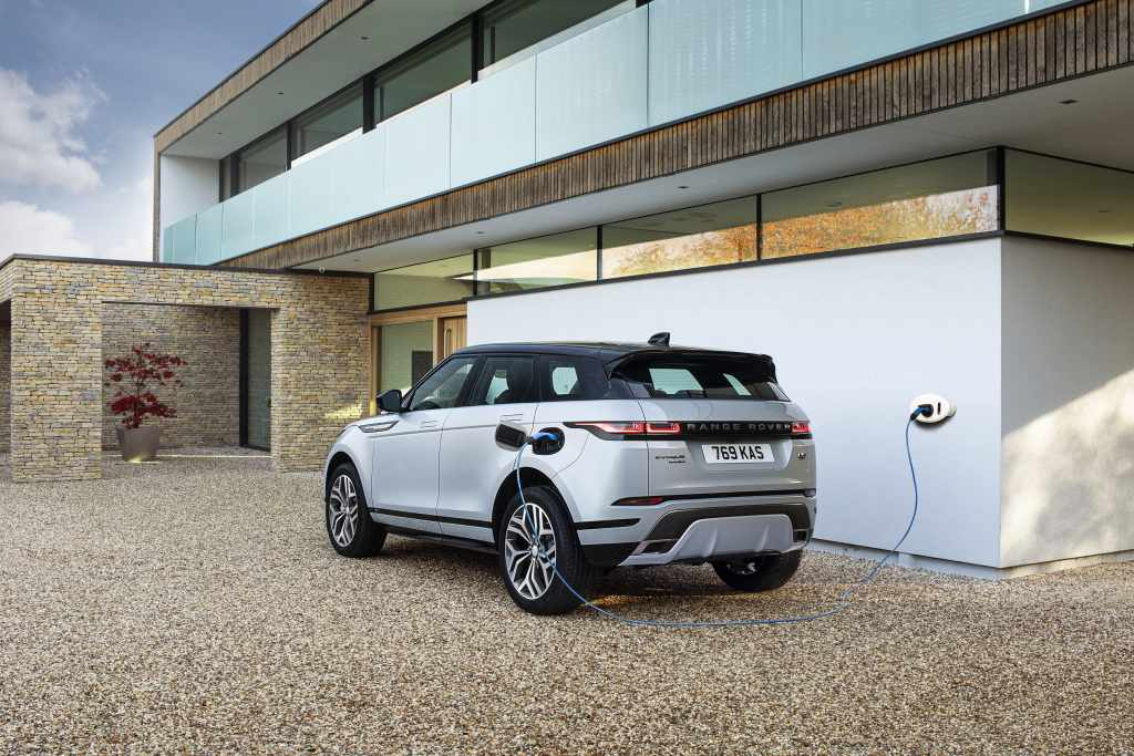 Jaguar Land Rover debuts its latest three-cylinder plug-in hybrid system on Range Rover Evoque and Land Rover Discovery Sport