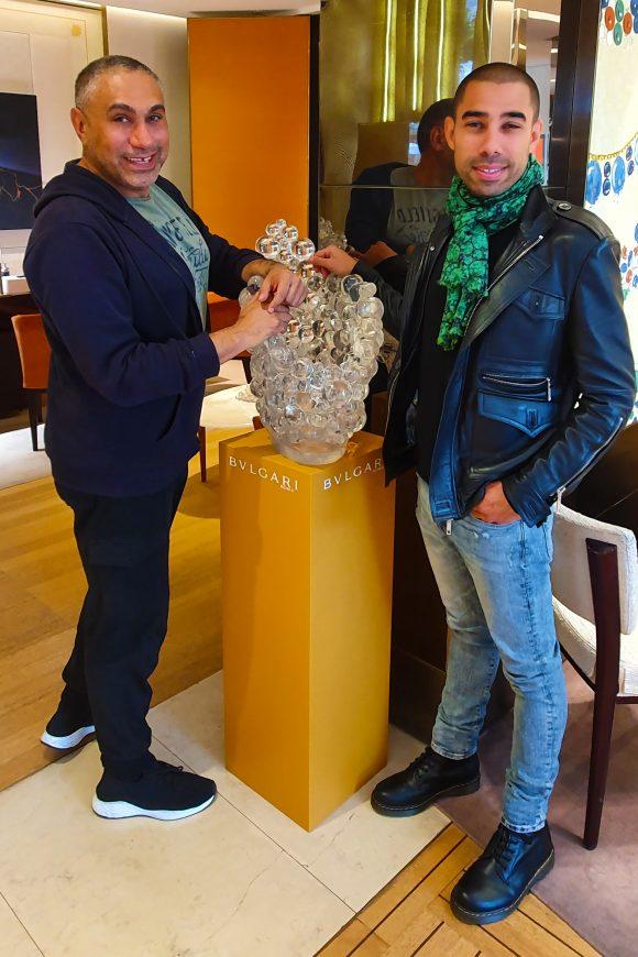 Pierre Koukjian and Cedric Koukjian, Designer Duo in Collaboration with Bulgari