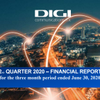 Digi Communications NV announces the release of the H1 2020 Financial Results