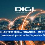 Digi Communications NV Q3 2020 Financial Results