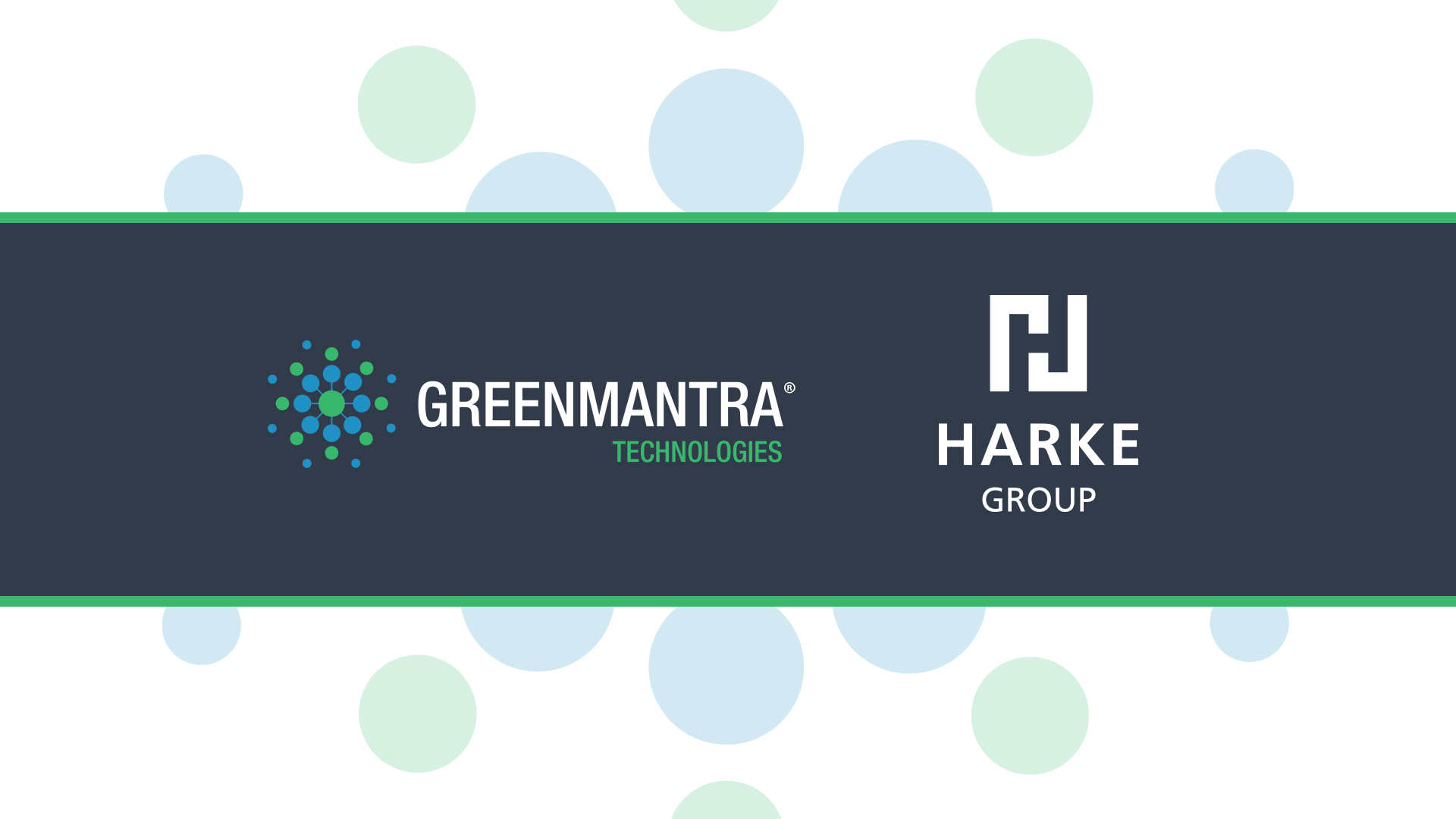 GreenMantra Technologies Announces Exclusive Distribution Relationship with HARKE GROUP