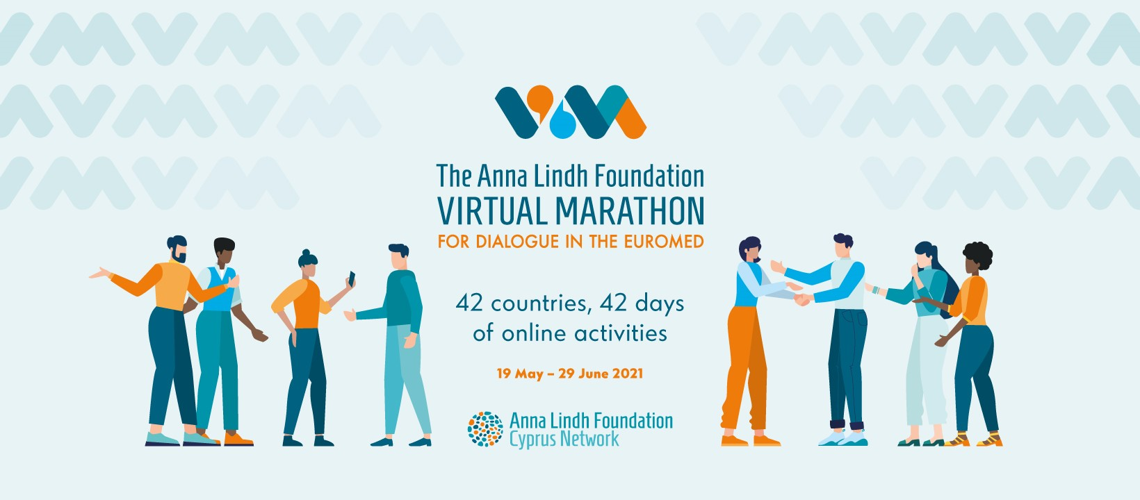 Launch of the Anna Lindh Foundation Virtual Marathon for Dialogue